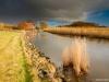 Huis achter de IJsselmeerdijk