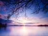 Zonsondergang boven het Paterswoldse Meer