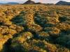 landschap en vulkaan bij Myvatn