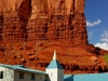 Kerk bij Monument Valley